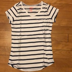 Old navy striped pocket top